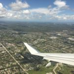 Flying into PBI