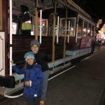 San Fran Trolley cars