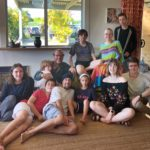 Our Workaway gang in Mullumbimby, NSW