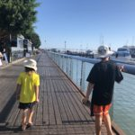 Walking to the Cairns Marina, Reef Terminal