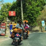 Coming into Amed, Bali on the main road