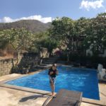 The pool at Barong Cafe Resort, Amed, Bali