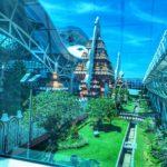 Departing Denpasar Airport in Bali..