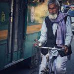 Bikes and buses, Kathmandu