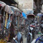Bicycle rickshaws, Kathmandu