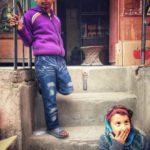 Waiting near Boudha