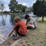 At a water palace between Ahmed and Padangbai, Bali