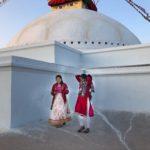 Scene at Boudhinath