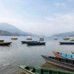 Phewa Lake boats
