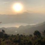 View down to Phewa lake