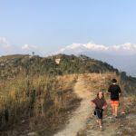 Views of the Annapurna Range from near Pokhara