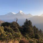 Sunrise in the Annapurna range