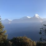 Morning in the Annapurna Himal