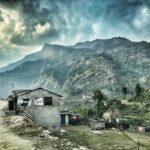 Near Nayapul, Nepal heading to start of Poon Hill trek