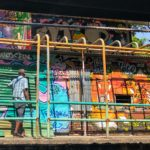 Graffiti in the Bangkok canals