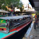 Long boats on the Bangkok canals
