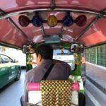 The tuk-tuk - Bangkok