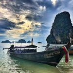 View from Railay Beach, west