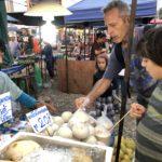 Exploring the weekly market at Mae Rim
