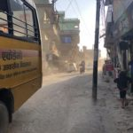 City streets (Kathmanu, Nepal)