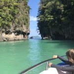 Exploring the islands off Krabi