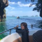 Exploring the islands off of Krabi
