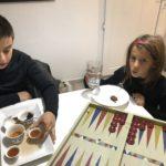 Tea and backgammon