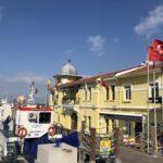 One of Izmir's ferry terminal