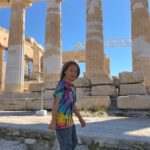 The Parthenon (and Leo!)