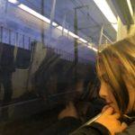 On the Metro, Athens, Greece