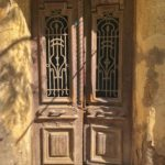 Door, near our AirBnB, Cairo