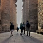 Early morning at Karnak temple, Egypt