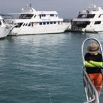 Heading out to the Red Sea from Hurghada