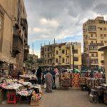 Near the Khan al Khalili market
