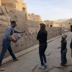 Exploring the temple at Kom Ombo