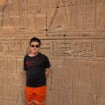Toby, practically an Egyptologist
