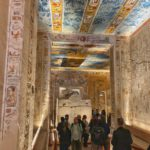 Inside the tomb of Ramses, Valley of the Kings