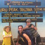 Easy peasy trek to the summit...