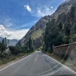 Approaching Ollantaytambo