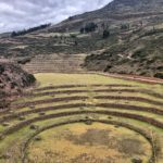 The Incan site of Moray