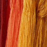 Naturally dyed alpaca wool