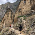 Incan grain storage at Ollantaytambo