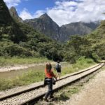 Walking from Aguas Calientes to Hidroelectra