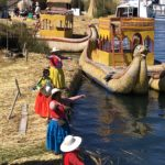 Uros, floating islands of Lake Titicaca