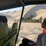 Dune buggy into the desert