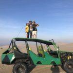 Dune buggying in the Huacachina desert