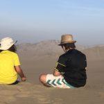 The Huacachina desert