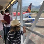 Flying from Santa Marta to Bogota
